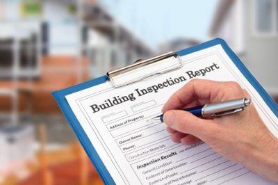 building inspector report
